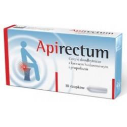 Apirectum czopki doodbytnicze 10 sztuk