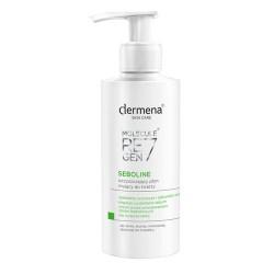 Dermena seboline oczyszczający płyn myjący do twarzy 200 ml (Acoss płyn myjący przeciwtrądzikowy 75ml)