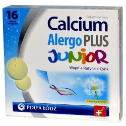 Calcium Alergo Plus Junior tabletki musujące 16 tabl.