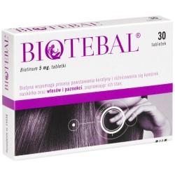 Biotebal 5 mg tabletki 30 tabl.
