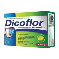 Dicoflor Elektrolity proszek 6 porcji ( 12 saszetek)