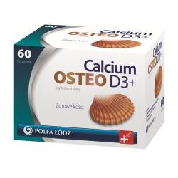 Calcium Osteo D3+ 60 tabletek