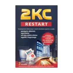 2KC Restart po 2 saszetki 20 op.