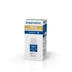 Diagnostic Gold płyn kontrolny do glukometru 1 op.