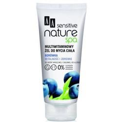 AA Sensitive Nature Spa Borówka multiwitaminowy żel do mycia ciała 200 ml