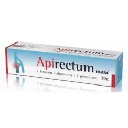 Apirectum masć z kwasem hialuronowym i propolisem  20 g