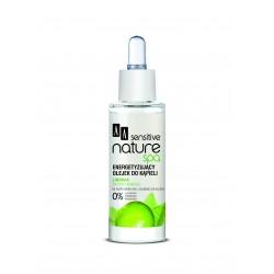 AA Sensitive Nature Spa Limonka energetyzujący olejek do kąpieli 30 ml