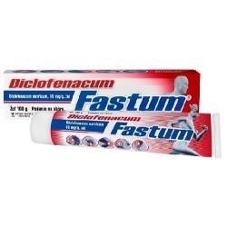 Diclofenacum Fastum żel 100 g