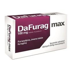 Dafurag Max 100 mg 15 tabletek