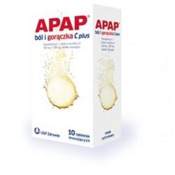 Apap Przeziębienie Fast ( Apap C Plus ) tabletki musujące 10 tabl. mus.