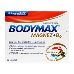 Bodymax Magnez + B6 60 tabletek