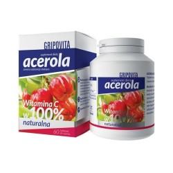 Acerola Gripovita 60 tabletek do ssania