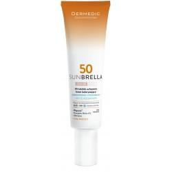 Dermedic Sunbrella Ultralekki ochronny krem koloryzujący SPF 50 UV+IR 40 g