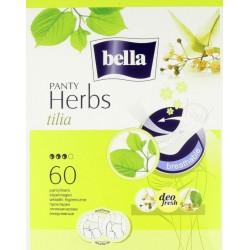Bella Panty Herbs tilia wkładki higieniczne wzbogacone kwiatem lipy 60 szt.
