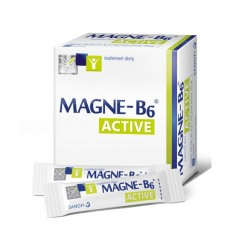 Magne-B6 Active granulki bez popijania 20 sasz.