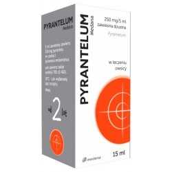 Pyrantelum Medana 250mg/5 ml zawiesina15 ml