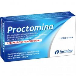 Proctomina czopki 10 szt.