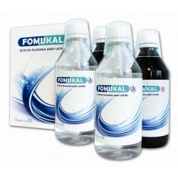 Fomukal płyn do płukania jamy ustnej 2 butelki A 225ml + 2 butelki B 225ml