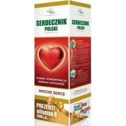 Serdecznik Polski 950 ml + Bioaron witamina D 2000 j.m. x 30 kaps GRATIS