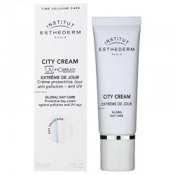 Esthederm CITY CREAM GLOBAL DAY CARE  Miejski krem nawilżająco-ochronny z filtrem UV 30 ml