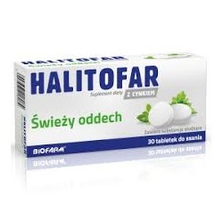Halitofar tabletki do ssania 30tabl.