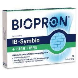 Biopron IB-Symbio + High Fibre saszetki 14sasz.