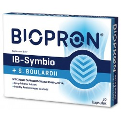 Biopron IB-Symbio + S-Boulardii kapsułki 30kaps.