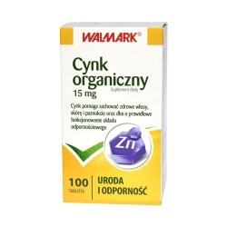 Cynk organiczny 15mg tabletki 100 tabl.