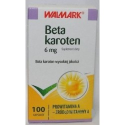 Beta Karoten kapsułki 100 kaps.
