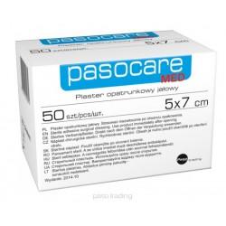 Pasocare Med Plaster opatrunkowy jałowy 5x7 cm 1szt.
