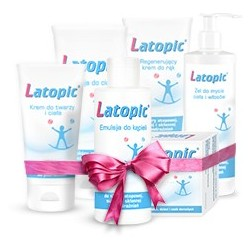 Latopic Complex zestaw 5 kosmetyków + Latopic 30 saszetek