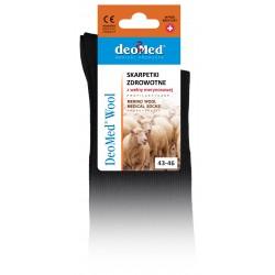 DeoMed Wool Skarpetki zdrowotne z wełną merynosową 1para