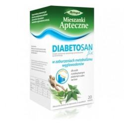 Diabetosan Fix w zaburzeniach metabolizmu węglowodanów saszetki 20 sasz.