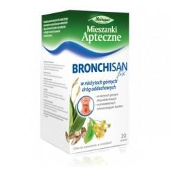 Bronchisan Fix w nieżytach górnych dróg oddechowych saszetki 20 sasz.