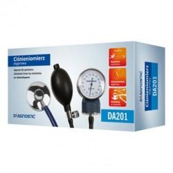 Ciśnieniomierz zegarowy ze stetoskopem Diagnostic DA201 1szt,