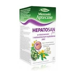 Hepatosan Fix w niestrawności i niedostatecznym wydzielaniu żółci saszetki 20 sasz.