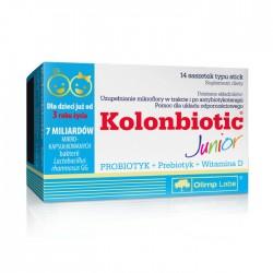 Kolonbiotic Junior saszetki typu stick 14 sasz.