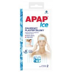 Apap Ice chłodzące plastry żelowe 2 plastry