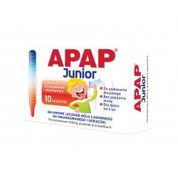 Apap Junior 250 mg saszetki 10 sasz.
