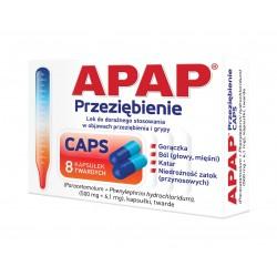 Apap Przeziębienie Caps kapsułki 8 kaps.