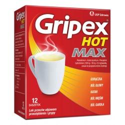 Gripex Hot Max ( Activ Forte) saszetki 12 sasz.