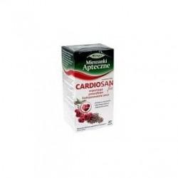 Cardiosan Fix wspomaga prawidłowe funkcjonowanie serca saszetki 20 sasz.