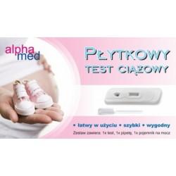 AlphaMed test ciążowy płytkowy 1op.