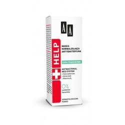 AA Help Maska normalizująca antybakteryjna 40ml