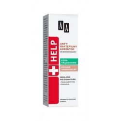 AA Help Cera trądzikowa Antybakteryjny korektor na niedoskonałości 15ml