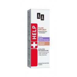 AA Help Cera naczynkowa Fluid kryjący wzmacniająco – ochronny SPF 15 40ml