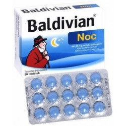 Baldivian Noc tabletki 30tabl.