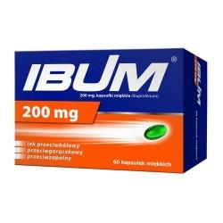 Ibum 200 mg kapsułki 60 kaps.