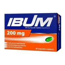 Ibum 200 mg kapsułki 30 kaps.