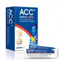 ACC Optima Active 600 mg saszetki 10sasz.
